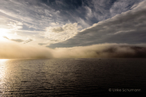 Schluchsee Nebelwand Sonneaufgang
