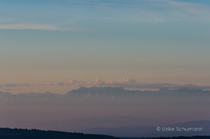 Alpensicht vom Feldberg