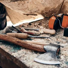 Arbeitsplätze Bildhauersymposium St Blasien